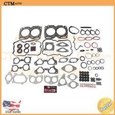 Head Gasket Set Manifold Steel For 04-09 Subaru Saab 2.5L H4 TURBO Multilayer