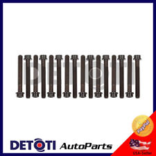 Cylinder Head Bolts For 86-00 Mazda Ford 4.0L 2.9L V6 VIN Code X T V Merkur Set