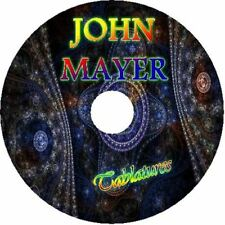 JOHN MAYER ACOUSTIC GUITAR TAB CD TABLATURE GREATEST HITS BEST OF POP MUSIC