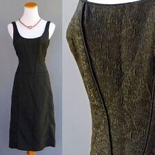 Ann Taylor Little Black Body Con Cocktail Dress Raised Brocade NWT Orig $189 S 6