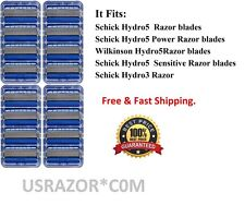 ~16 Schick Hydro5 Razor Blades Cartridges Refill fit Hydro Silk 5 3 Power Shaver