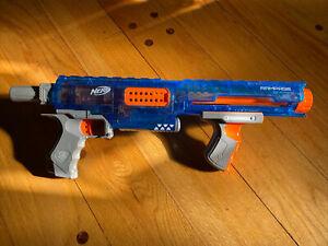 Nerf N-Strike Elite Ice Blue Rampage Blaster