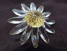 Swarovski Crystal Yellow Daisy - Beautiful & Perfect