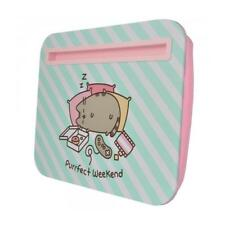 Pusheen Lap Desk The Cat Tablet Tray  PURRFECT WEEKEND Cartoon Stationary Gift