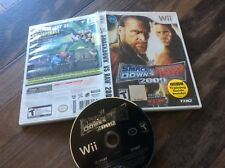 WWE SmackDown vs. Raw 2009 Featuring ECW (Nintendo Wii, 2008) Used Free US S/H