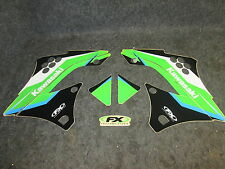 Kawasaki KXF450 2009-2011 Factory FX EVO graphics decal kit GR1207