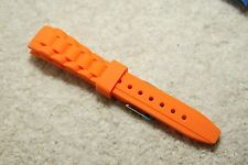 Silicone Replacement Watch Strap compatible with ICE curved end 17mm 20mm 22mm