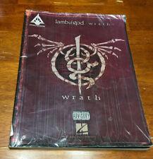 Lamb of God - Wrath Guitar Tab / Tablature Book - 2009 Hal Leonard