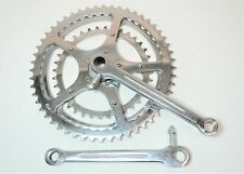 """SOLIDA 5 PIN BICYCLE 52/46/36 TOOTH 170 MM COTTERED CRANK SET THREADED 9/16"""""""