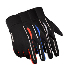 Cycling Gloves Waterproof Reflective Anti-Cold Touch Screen Full Finger Outdoor