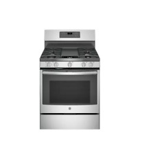 GE 5.0 Cu. Ft. Gas Range With Self Cleaning Convention Oven In Stainless Steel