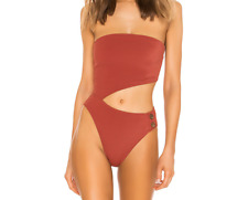 House of Harlow 1960 X REVOLVE YESENIA Swimsuits ONE PIECE in Terracotta Small