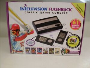 Nice IntelliVision Flashback Collector's Classic Console 61 Built-In Games W/Box
