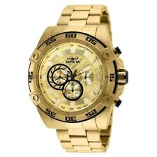 Invicta Speedway 25535 Men's Gold-Tone Chronograph Watch with Tachymeter