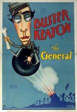 The General Poster//The General Movie Poster//Movie Poster//Poster Reprint