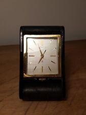 Vintage Jaeger Lecoultre De 8 días de viaje/Reloj De Escritorio