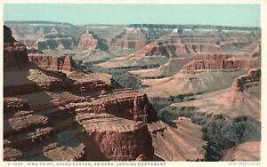 Vintage Postcard 1920's Pima Point Northwest Grand Canyon National Park Arizona