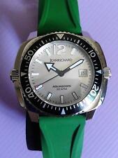 JEANRICHARD AQUASCOPE DIVING MENS AUTOMATIC WATCH DOUBLE CROWNS