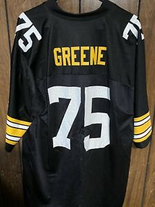 Pittsburgh Steelers Mean Joe Greene Throwback Jersey Black XL New Nfl Football