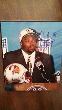 Warren Sapp autographed 8x10 Draft Year Photo