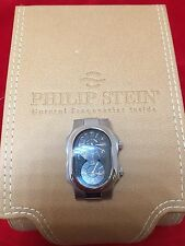 PHILIP STEIN SML CASE WATCH ONLY TWIN TIME  SIGNATURE COLLECTION MODEL PS 1-MB