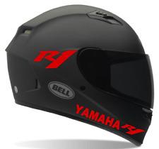 Helmet decals Yamaha R1 Motorcycle helmet decals, Sticker