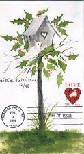 1994 Love Dove Roses Stamp Scott 2814 Billie Jo Wilson