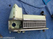 1973 MARQUIS RIGHT HEADLIGHT BUCKET DOOR TRIM GRILL TRIM PANEL OEM USED MERCURY