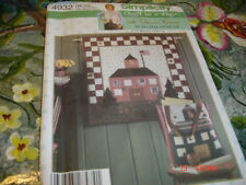 Simplicity Wall Hanging And Book Bag Pattern 4932 Uncut