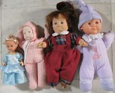 Lot of 4~1990's Dolls~Plastic Bean Bag Sad