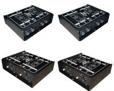 "4 DI Stereo Dual Direct Box Balanced & Unbalanced 1/4"" - XLR Guitar, Keyboards"