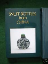 RARE BOOK White SNUFF BOTTLES from CHINA Bamboo V&A Col