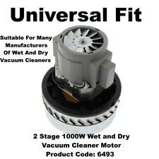 Universal 2 Stage 1000W Wet and Dry Vacuum Cleaner Motor