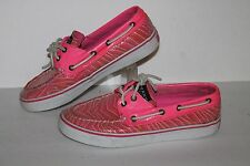 Sperry Topsider Boat / Casual Shoes, #9688904, Pink Sequin, Women's US 6