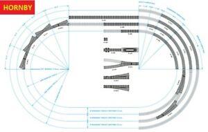 OO Gauge Hornby Nickel Silver Track Sections (Multi-Listing)