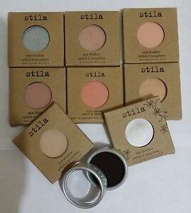 STILA SINGLE EYESHADOW REFILL/REFILLABLE COMPACT PAN --Choose Your Shade---