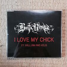Busta Rhymes ‎I Love My Chick Promo CD 2006 Interscope Records will.i.am Kelis