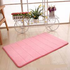 1pcs Soft Foam Bathroom Bedroom Bath Mat Soft Floor Rug Carpet Non-Slip Mats
