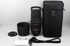 Excelent+++++ Sigma DG 150-500mm F/5-6.3 APO HSM DG OS Lens For Nikon from Japan