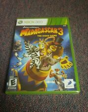 Madagascar 3 The Video Game (Microsoft Xbox 360, 2012) Brand New