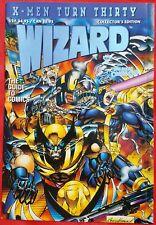 X-MEN TURN THIRTY BLUE FOIL 1993 SAN DIEGO CON WIZARD W/CARD & CERT RARE nmt