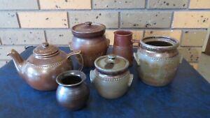 Vintage Bendigo Pottery. Collection