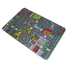 Meubinex Spielteppich CITY Stadt Kinder Teppich 120x80cm Straßenteppich