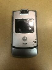 Motorola V3m RAZR Flip Cell Phone (VERIZON) MOTORAZR Camera Silver