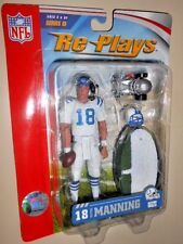 "PEYTON MANNING (5"") 2006 GRACELYN RE-PLAYS ACTION FIGURE ( SERIES III ) COLTS QB"