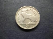 1953 EIRE (IRELAND REPUBLIC) IRISH THREEPENCE COIN COPPER-NICKEL FEATURES A HARE