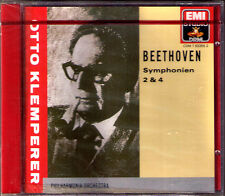 Otto KLEMPERER: BEETHOVEN Symphony No.2 & 4 EMI CD Sinfonien Philharmonia 1957