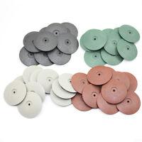 40 PCS MIXED Rubber Polishing Disc Jewelry Rotary Tool Metal Polisher