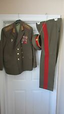 RARE Soviet Army Russia USSR 3 star GENERAL Daily Uniform ! Генерал-Полковник !!