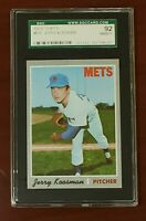 1970 Topps #610 Jerry Koosman Mets HOF SGC 92 NM/MT+ 8.5 Centered